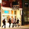 CITY NOISE : Nuit Blanche, Toronto, 2009 {This just about sums up downtown Toronto at 4:30a.m.}