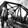 Train Truss : Peterborough, ON {exercising a seldom used DT-11-18 W/A, aps-c lens}