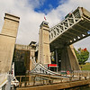 Canal Lift: Peterborough, W/A 11-18mm. { This is an awesome bit of old mechanicals to watch in action.}