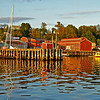 Red Shore: Lunenburg, Nova Scotia